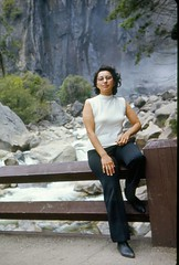 Tina in Yosemite. (08/1971)
