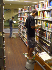 D-day minus-One: library@orchard moving on party