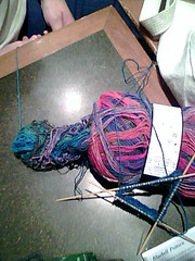 Noro Sock Yarn...interesting