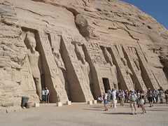 Temple of Hathor and Nefertari (upyernoz) Tags: ruins egypt  abusimbel   templeofhathorandnefertari