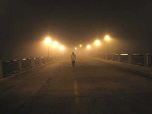 shane in fog