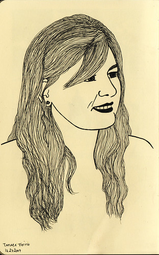 Portrait Of Tamara F.