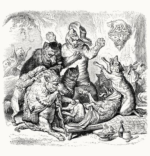 Wilhelm von Kaulbach - Reineke Fuchs, 1857 (Goethe) 49 (coconino)