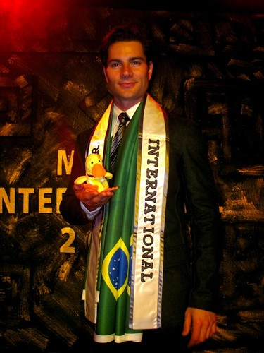 Alan Bianco Martini Malgioglio, the new Mister International from Brazil