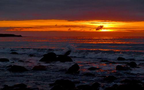 Talybont sunset