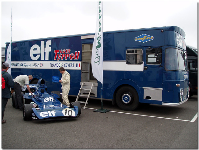Team Tyrrell Thoroughbred Grand Prix Championship F1 Silverstone 2005