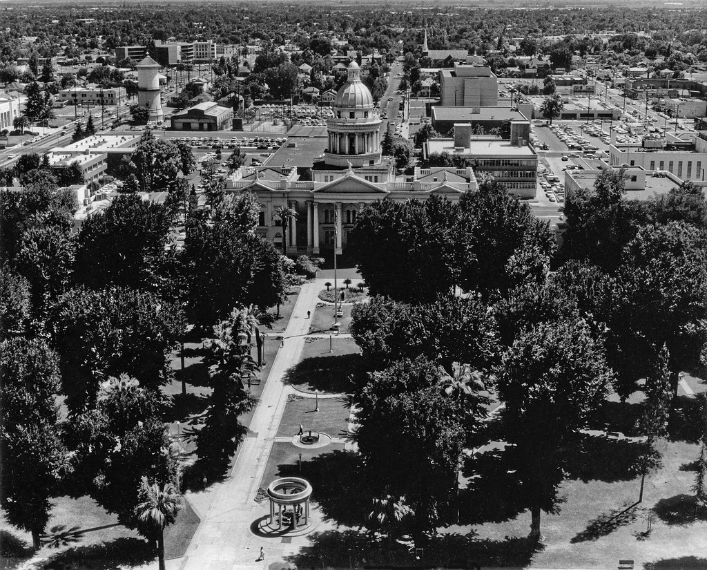 Old Fresno Courthouse in 1962