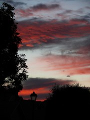 Colorful Ending (priscilla.starling) Tags: blue light red sky color home nature lamp silhouette night clouds colorful bright photos gray bestofflickr beautyofnature sunshotsanyweather weatherphotography skypoetry wowiekazowie bestsunsetandsunrise betterthangood sensationalskies priscillastarling yourpreferredpicture skiescloudsandsun thebestpicturegallery fanflickrtastic