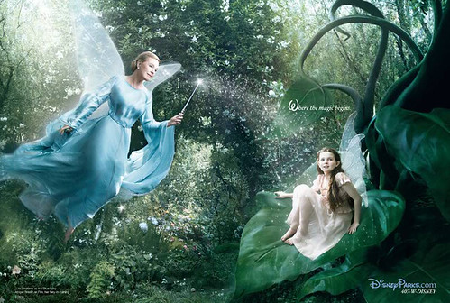 Annie Leibovitz's Disney Dream Portrait Series - Fairies