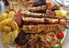 Santorini Kabab Platter