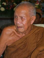 elderly monk (maiks72) Tags: old people man face asian thailand bangkok buddhist monk oldman elderly thai elder wise portaits grayhair whitehair seniorcitizen