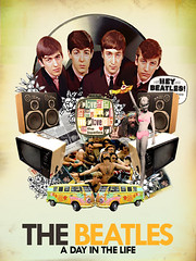 Collage The Beatles (Javier Piragauta) Tags: music art rock collage del vintage design 60s colombia arte n pop retro rockmusic hippie roll beatles johnlennon diseo pinup clasico thebeatles putas the barranquilla casanare yopal piragauta javierpiragauta