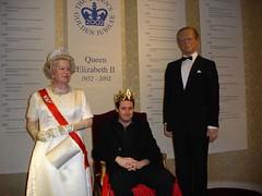 King Graham I takes to the throne (adoublec) Tags: starwars blackpool 007 tussauds jamesbond davidbeckham waxworks louistussaudswaxworks
