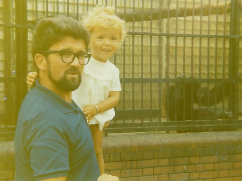 Me and Dad at Bristol Zoo