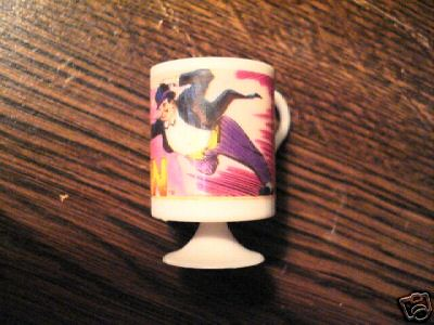 One view of Penguin mini cup from vending machine 1979