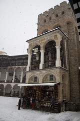 Rila monastery under the snow (micheleye) Tags: snow monastery bulgaria rila
