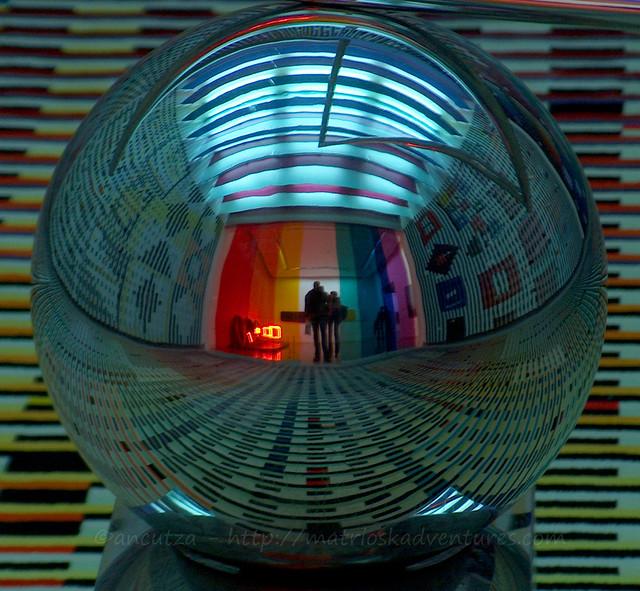 foto arte contemporanea al Centro pompidou parigi francia