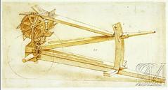 F16r-Codex Atlanticus- Maquina de fuego ocho cañones-Biblioteca Ambrosiana