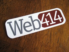 Web414 Sticker (Rounded)