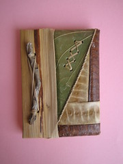 Rustic Notebook (ONE by one) Tags: paper notebook recycled rustic swap sent paperfun maluciana26 trocadepapelaria