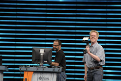 ZFS Demo, CommunityOne General Session, Moscone Center SF