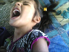 No tittle (M.Rizwan Rafique) Tags: girl sepia kids laughing children happy village child little young joys cackle pleasures