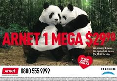 Pandas in love (Axel-O-Rama) Tags: publicidad pandas arnet