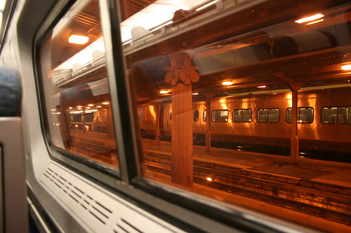 Leaving Union Station