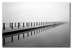 Into the Mist (Gary Newman) Tags: longexposure england bw lake marine somerset westonsupermare d300 dapagroupmeritaward dapagroupmeritaward3 dapagroupmeritaward5 dapagroupmeritaward4 dapagroupmeritaward2