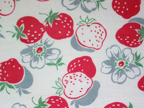 Strawberry Feedsack