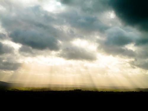 The sun on Tavistock 1