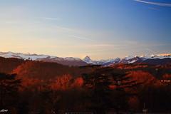 pau(pyrenees atlantique) (oliv340) Tags: bearn pyrenees pyreneesatlantiques sunrise canonphoto landscape paysages montagnes neige snow colors ciel 1855mm
