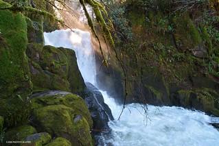Upper sweet creek falls