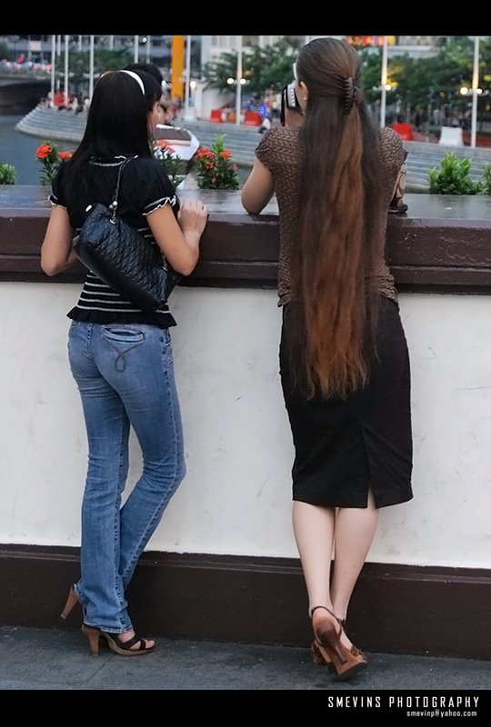 long hair women in kerala