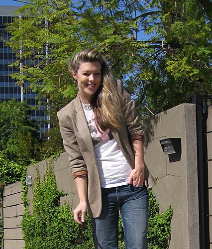 beatles tshirt+jeans+blazer+close+smile2 by ...love Maegan.