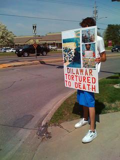 Anti-Torture Vigil - Week 47: For Dilawar