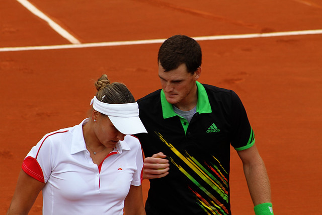 Nadia Petrova and Jamie Murray