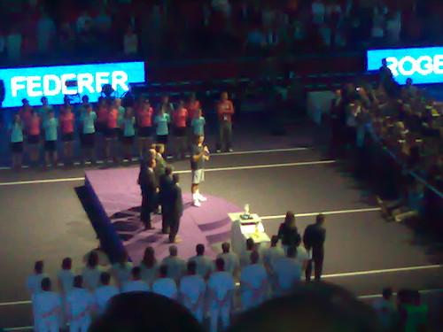 Finalista Roger Federer