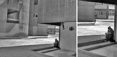 leyendo (Clauminara) Tags: bw blancoynegro blanco mxico architecture mexico reading book arquitectura mexicocity df reader leer negro libro bn read universidad autonoma metropolitana mexic ciudaddemexico xochimilco lectura distritofederal lector uam leyendo mejico escaladegrises mjico uamx universidadautnomametropolitanaunidadxochimilco