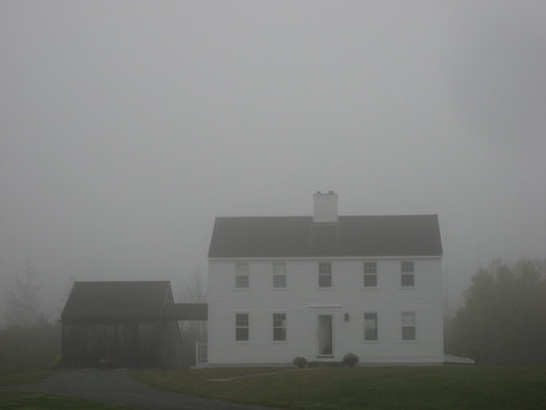 Foggy Colonial, North Castine