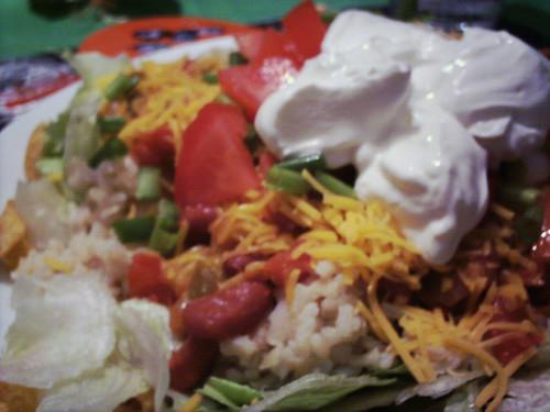 Ria's taco salad