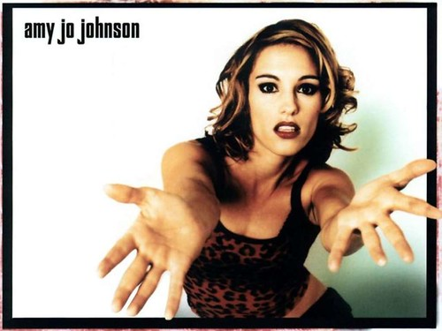 lisa kaye wallpaper. Amy Jo Johnson Trans-American Treatment Album Wallpaper.