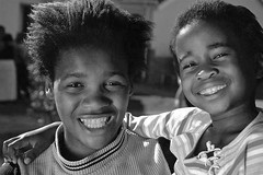 smiles (kevinandmclean) Tags: africa street boy portrait girl children southafrica child capetown orphanage township langa beginnerstreetphotography soschildrensvillages