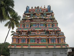 Vimanam of Pallikondeeswarar Shrine (Back side)