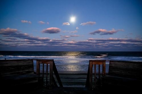 North Carolina Moonrise