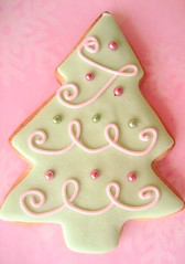 christmas cookies 077 (hello naomi) Tags: snowflake christmas pink blue white tree green cookies snowman purple decorative goods packaged button baked