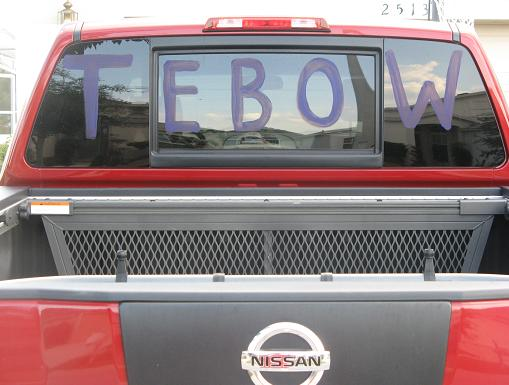 Tim Tebow Window