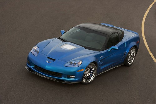 Картинки нового Chevrolet Corvette ZR1