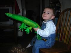 Boy Meets Crocodile