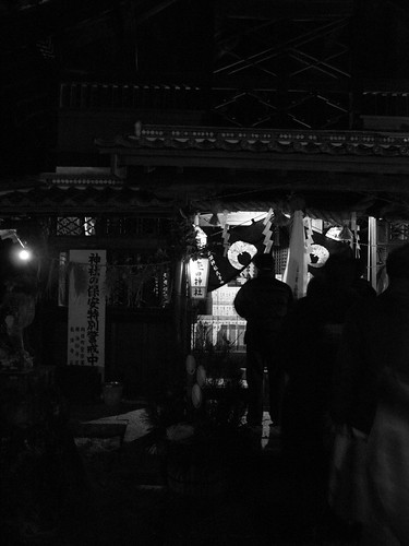 Visit to a shrine on New Year's Day